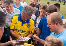 Стадіон «Локомотив» зібрав шанувальників футболу