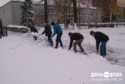 Шепетівщина у сніговому колапсі