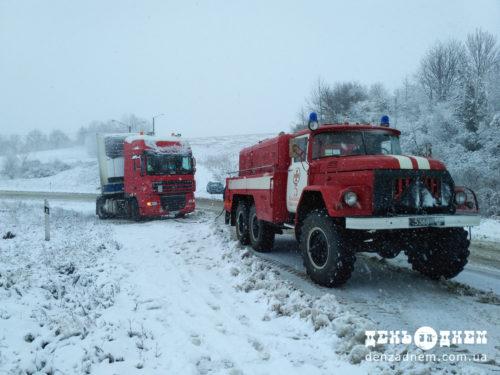 Із снігових заметів звільнено 237 автомобілів