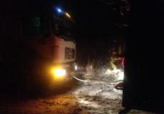 На Хмельниччині злетіли у кювет два автобуси
