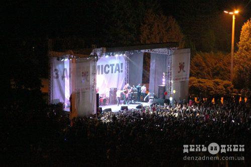 Гурт «Антитіла» виступив із концертом у Шепетівці
