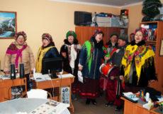 Колядники з району завітали в Шепетівку