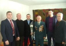 Визволителя Шепетівщини привітали з 94-річчям