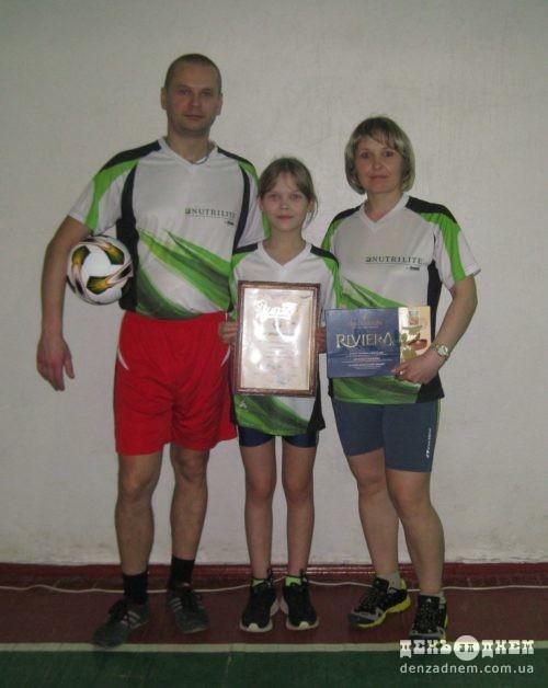 Тато, мама, я – спортивна сім'я!