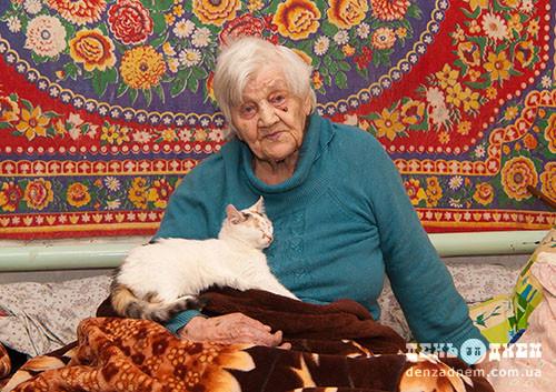 Євгена Арцішевська сподівається відзначити століття