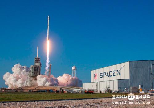 SpaceX вдало запустила бувшу у використанні ракету-носій Falcon9
