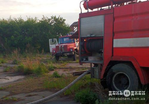 Вогнеборці врятували від знищення господарчу будівлю