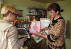 Людмила Корняк у творчості шукає сили