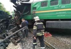 Через зіткнення поїздів у Кам'янці-Подільському звільнили 10 осіб