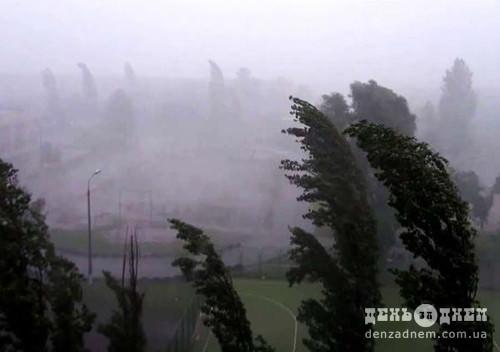 На Хмельниччині оголошено штормове попередження — очікуються град та грози