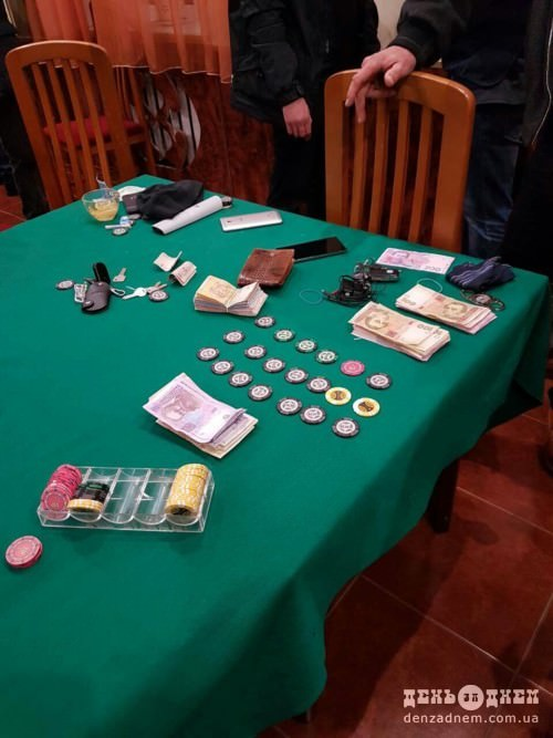 У Шепетівці прикрили три покерних клуби