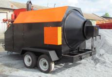 У Шепетівці придбали асфальтний міні-завод на колесах