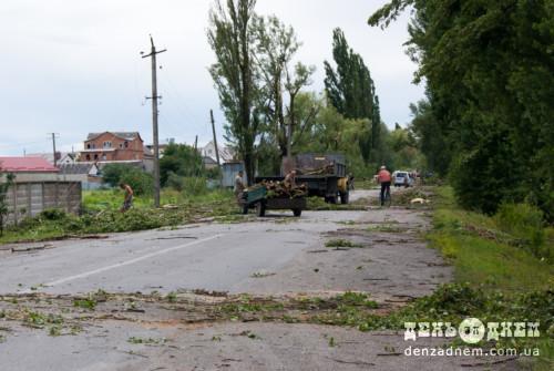 Торнадо пройшов над військовою частиною