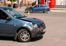 На перехресті поблизу «Монетки» не розминулися автівки
