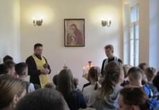 Капелани у Старокостянтинові благословили дітей на навчання