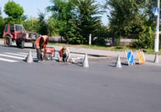 До 1 вересня в Шепетівці поблизу школи відновили «лежачого поліцейського»