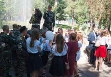 Шепетівські ліцеїсти відзначили День знань у фонтані