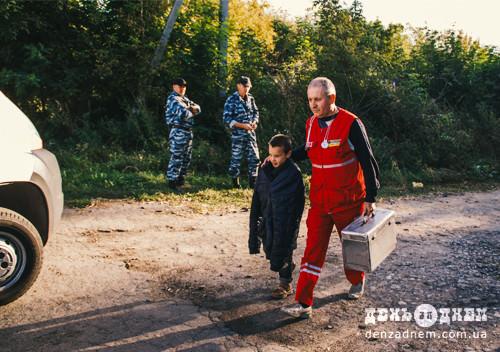 У Плесні 7-річного утікача знайшли на розвалинах через добу
