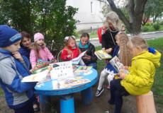 У Шепетівці ТСН знімала «читаючий дворик»
