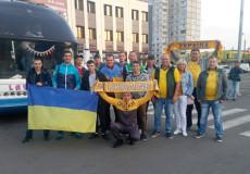 Футболісти та вболівальники з Шепетівки на матчі Україна— Туреччина