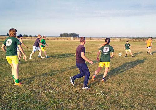 Футбольний Врожайний Фестиваль NRG