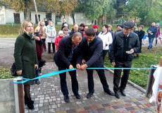 Роман Мацола у Шепетівському районі допоміг відновити сквер