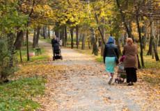 У Шепетівці міський парк— улюблене місце для прогулянок із маленькими дітьми