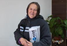 Алла Рибачук 30 років працює листоношою у Шепетівці