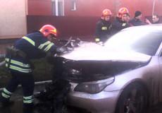 Поблизу станції Шепетівка-Подільська підпалили іномарку