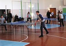 У Шепетівці студенти змагалися з настільного тенісу