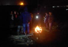 Шепетівські активісти зібралися ночувати біля газопроводу