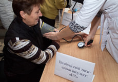 Напередодні ювілею лікарні шепетівські медики вийшли до людей
