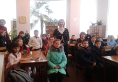 Казкарка Зінаїда Русняк зустрілася з читачами