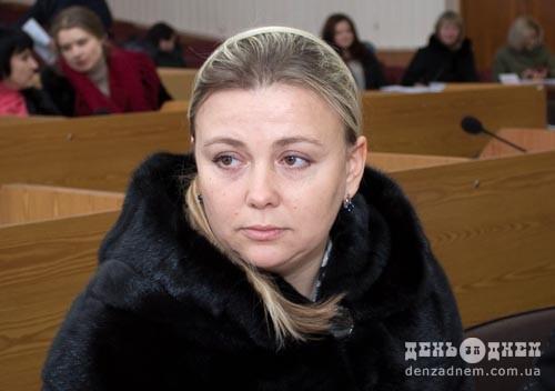 Інна Сікора: «Шепетівчан найбільше турбує освітлення в приватному секторі»