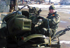 Після зони АТО Михайло Яким вступив у військове училище