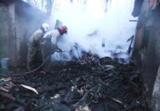 В Онишківцях згоріла господарча будівля