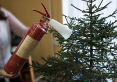 Перевірте чи безпечно ви встановили новорічну ялинку!