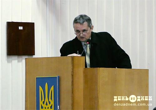 Шепетівський міський голова звітував про зроблене