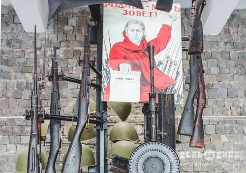 У шепетівському музеї зберігається перша снайперська гвинтівка