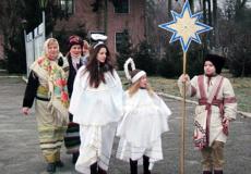 Різдвяна коляда на плацу