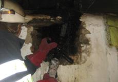 Через порушення правил пожежної безпеки ледь не згорів будинок
