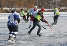 На Шепетівщині вирували хокейні пристрасті