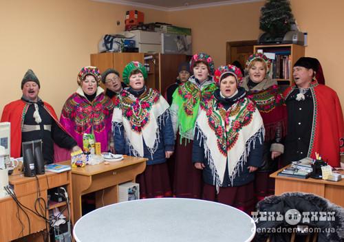 «Калина» колядує по Шепетівщині вже 40років