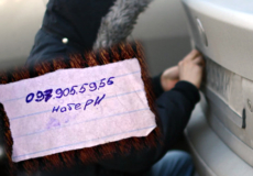 У Шепетівці з автівок масово викрадають номерні знаки та вимагають викуп