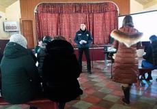 У Шепетівському районі дільничний провів шкільні батьківські збори