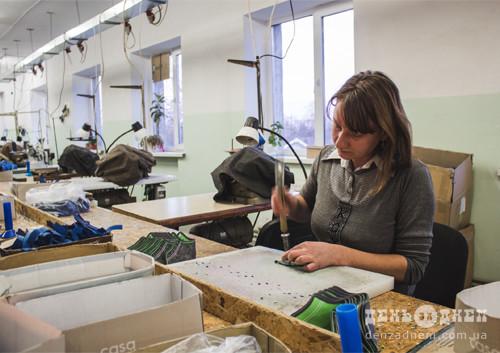 У Грицеві шиють заготовки для італійського бренду