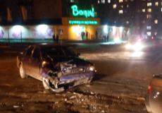 Ввечері у Шепетівці не розминулися дві автівки