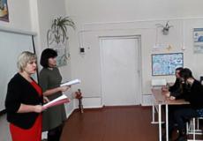 У Шепетівському районі помічники суддів провели семінар для старшокласників