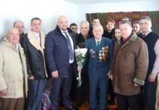 Ветеран у Шепетівському районі відзначив 95-річний ювілей