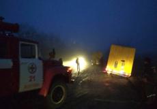Завдяки рятувальникам хліб у Шепетівку доставили вчасно